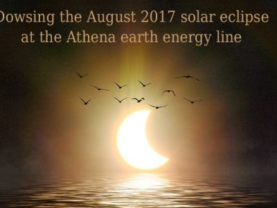 Dowsing the August 2017 Solar Eclipse